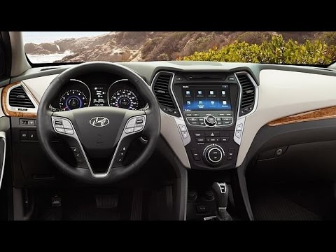 Beautiful Hyundai   2015 Hyundai Santa Fe Sport Interior   YouTube Amazing Design