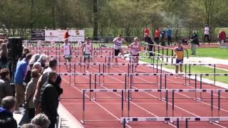 JB 110m horden, 2e ronde, serie 1