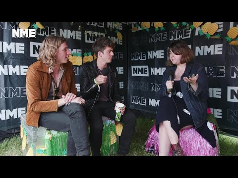 Glastonbury 2017: We chat to Circa Waves backstage