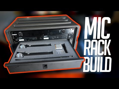 Mobile DJ Tips: How To Build A Wireless Microphone Rack