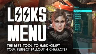 LooksMenu PC Mod - The Best Way to Mold Your Fallout 4 Character - How to Use & Install It