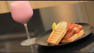 سندوتش سمك فيليه بسلطة الطماطم - عصير الورد | سندوتش وحاجة ساقعة حلقة كاملة