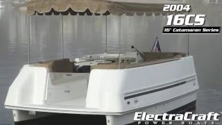 04 ElectraCraft 16CS Catamaran Series - used, for sale