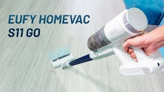 Đánh giá máy hút bụi cầm tay Eufy Homevac S11 Go