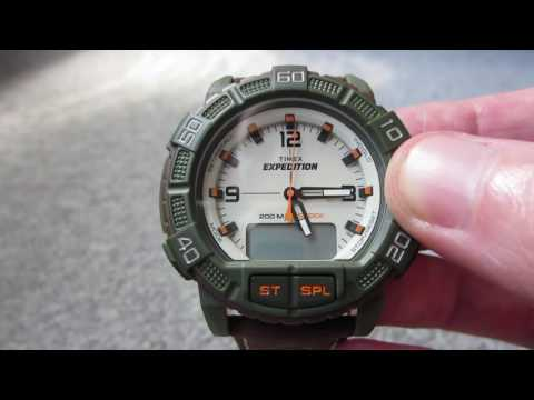 TIMEX Expedition Double Shock T499699J Review