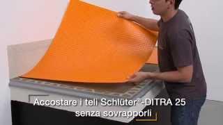 Realizzazione balcone con Schlüter®-DITRA e Schlüter®-BARA-RKK