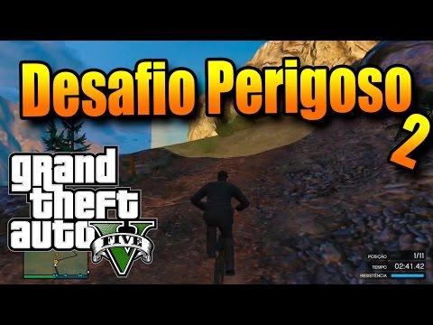 GTA V ONLINE COM MODS: O PERIGOSO DESAFIO DO DESFILADEIRO 2 Upgrade em um mapa clássico FODA! - 동영상