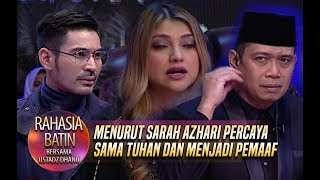 Download Video Menurut Sarah Azhari Percaya Sama Tuhan Dan Menjadi Pemaaf - Rahasia Batin (31/1) MP3 3GP MP4