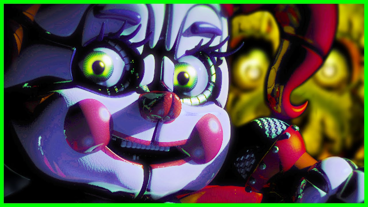 FNAF Sister Location THINGS YOU MISSED - BABY + FNAF World Update 3 (Five  Nights at Freddy's 5)