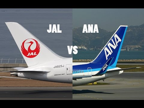 Japan Airlines VS All Nippon Airways