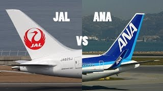 Japan Airlines VS All Nippon Airways
