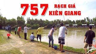 FISHING . CÂU GIẢI HỒ 757 . CẦN SỐ 1 BÃO 20 CON CÁ (P1)