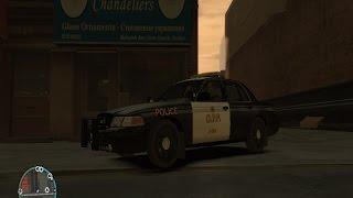 GTA IV LCPDFR EPISODE 6: Ontario Provincial Police PATROL (SLOW DAY & TRAFFIC CONTROL)