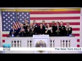 The U.S. Armed Forces by Rings the NYSE Closing Bell