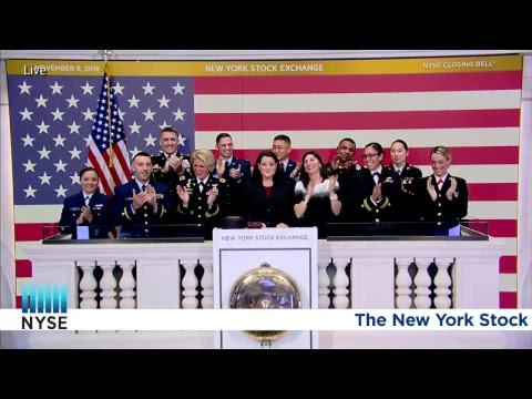 the u s armed forces by rings the nyse closing bell youtube