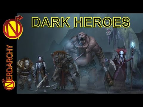 Do Dark Heroes & the Anti-Hero Belong in D&D