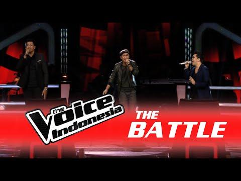 "Michel B. vs Daniel P. vs Jims Wong ""I Feel Good"" | The Battle | The Voice Indonesia 2016"