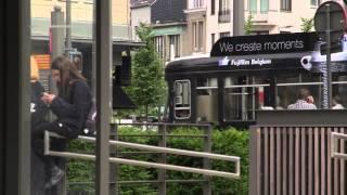 FUJIFILM X Series Camera on the tram