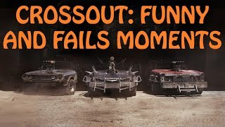 CROSSOUT: ПРИКОЛЫ, ФЕЙЛЫ \ FUNNY AND FAILS MOMENTS