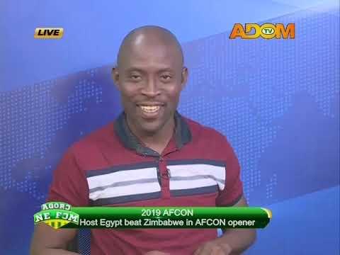 AFCON 2019 - Agoro Ne Fom on Adom TV (22-6-19)