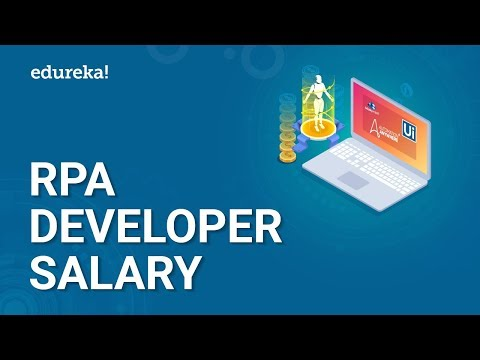 RPA Developer Salary | Average Salary Of A RPA Developer In India & US | Edureka