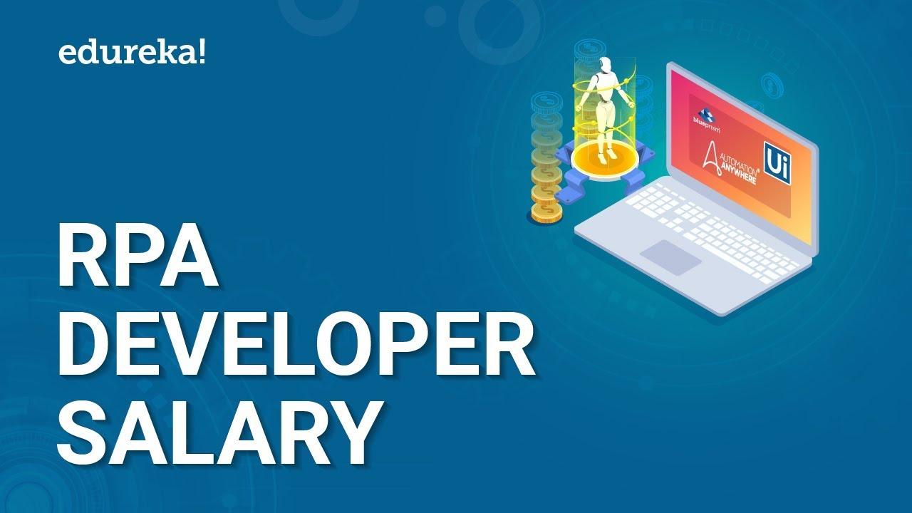 Rpa Developer Salary Rpa Developer Job Trends Roles Edureka