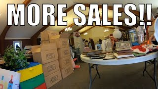 Rummage Sale Madness - I Keep FINDING Sales FULL of TREASURE