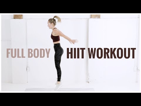 Body-Weight HIIT // No Equipment Workout