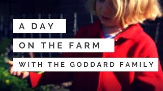 A day on the farm with the Goddard&#39s