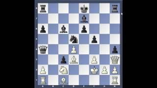 Chebanenko afbrigðið - Módelskák 5. Bg5 Gormally - Volkov 2000