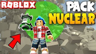 PACK NUCLEAR INCREIBLE!!! ROBLOX DESTRUCTION SIMULATOR