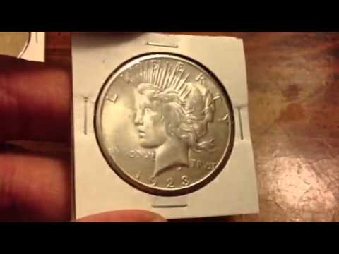 Buying Junk Silver Peace Dollars - Looking For Key Dates To Make You Money