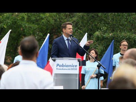 Rafał Trzaskowski w Pabianicach