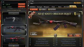 CFPH : BP_Serafin buying Ak47-Knife Obsidian Beast[VIP]