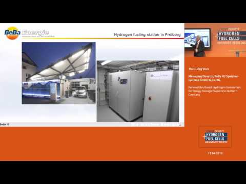 Renewables Based Hydrogen Generation for Energy Storage Projects in Nothern Germany