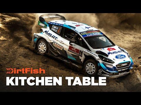 WRC Rally Turkey - Day 2 DirtFish Kitchen Table