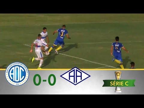 Melhores Momentos - Confiança 0 x 0 Atlético-AC - Série C (03/06/2018)