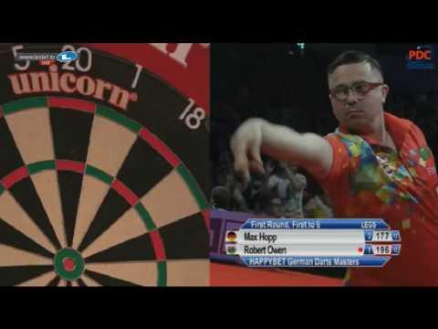 2017 German Darts Masters Round 1 Hopp vs Owen