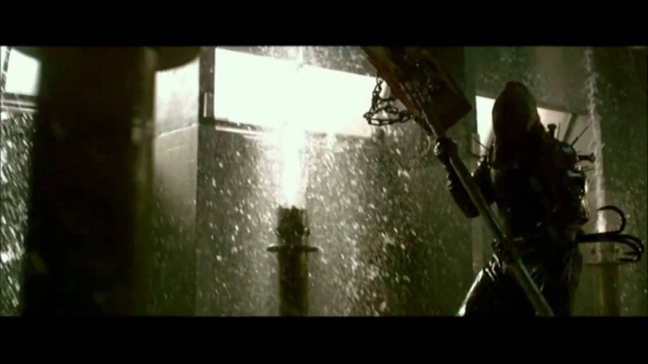 Resident Evil Afterlife Axeman Scene Youtube