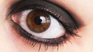 Easy Goth Emo Scene Black Smokey Eye Makeup / Maquillaje Gotico Emo Scene Facil Ojos Ahumados