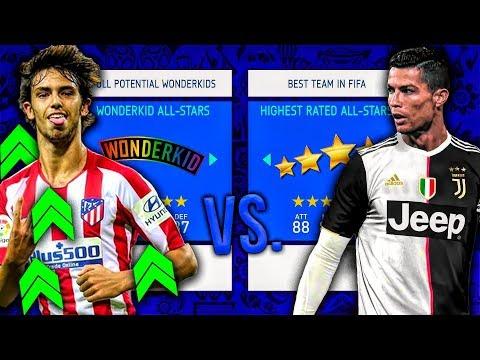 Best Team In FIFA vs. Wonderkids At Full Potential! - FIFA 19 Career Mode