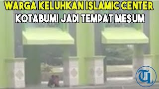 Warga Keluhkan Islamic Center Kotabumi Jadi Tempat Mesum