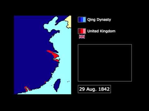 [Wars] First Opium War (1839-1843): Every Month
