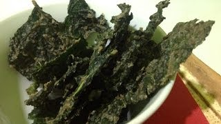 Kale Chips ~ Live Snack