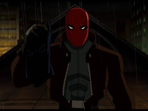 Мультфильм бэтмен и красная маска