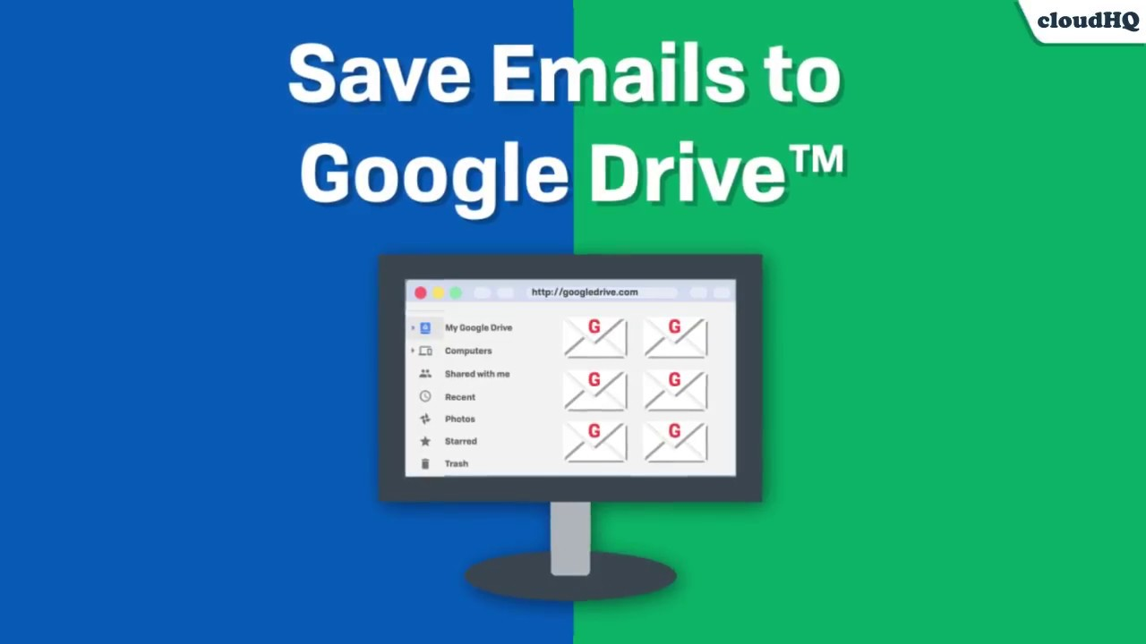 How to Save Your Emails to Google Drive in Just 1 Click