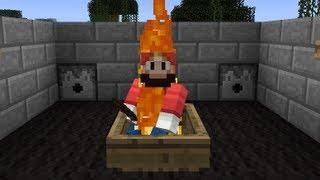 Lava Boat -- Minecraft Trick