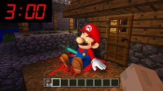 Minecraft : WHAT HAPPENED TO MARIO AT 3AM??(Ps3/Xbox360/PS4/XboxOne/PE/MCPE)