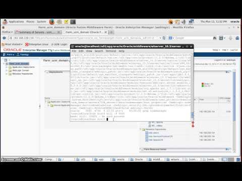 configure Node Manager in Weblogic and administer managed server