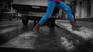 Воды по щиколотку и гололёд, или Как убирают Харьков в декабре